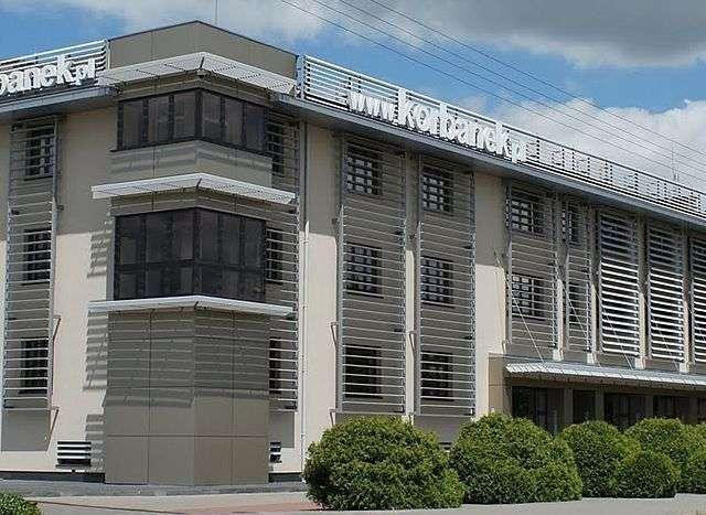 Budynek firmy Korbanek Sp. z o.o.