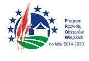 Logo programu rozwoju obszarów wiejskich w latach 2014-2020