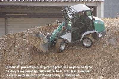 Mocne, zwrotne i stabilne ładowarki Kramer z oferty www.korbanek.pl opisane w artykule w Technice Rolniczej
