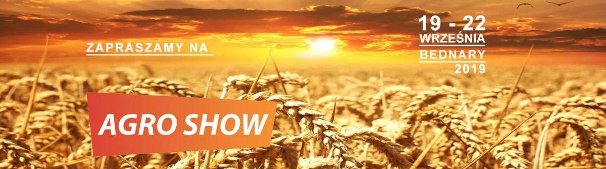 XXI targi AGRO SHOW ulotka informacyjna