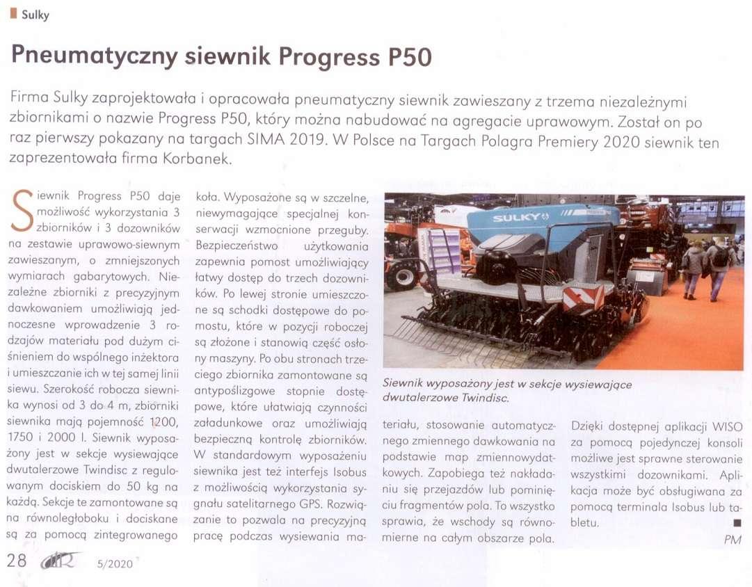 ATR express siewnik pneumatyczny Sulky