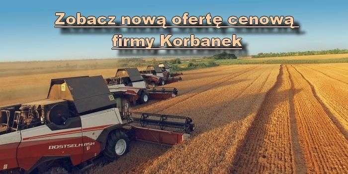 Oferta Cenowa Firmy Korbanek dostępna na korbanek.pl