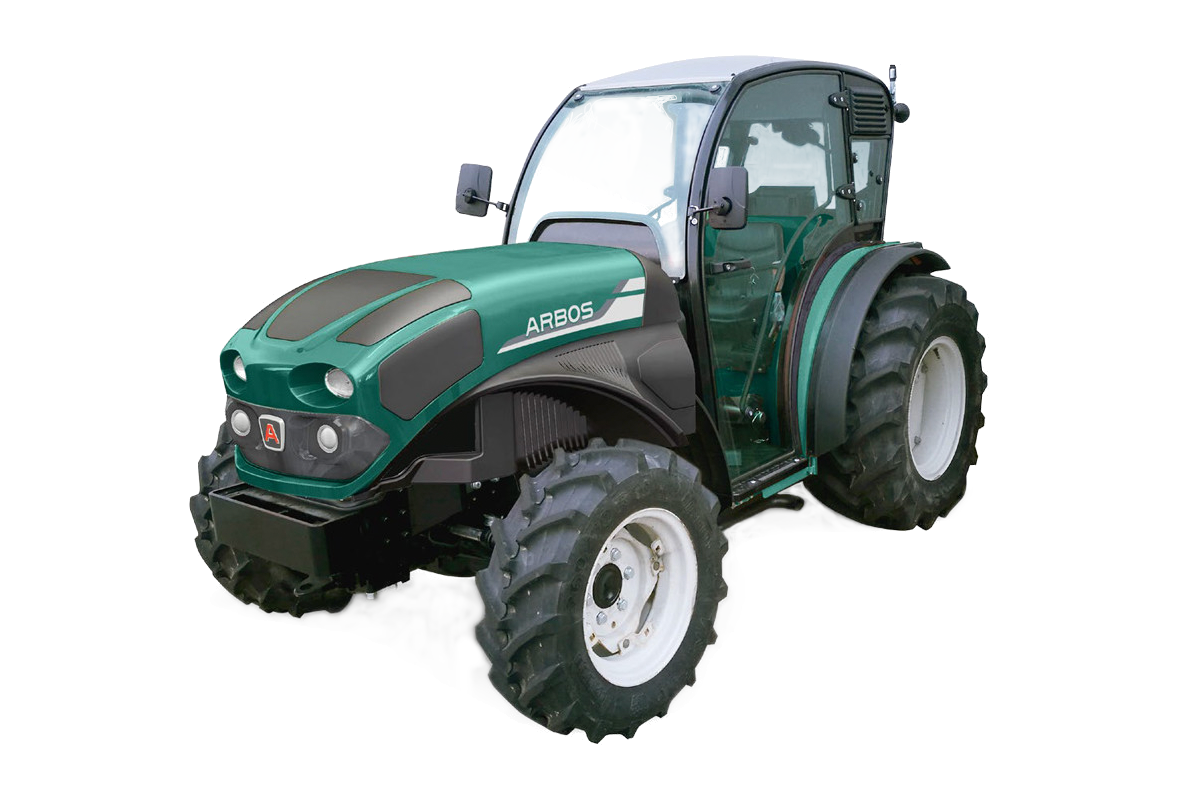 Specjalistyczny traktor korbanek goldoni seria 4000