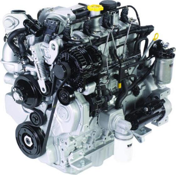 Silnik VM motori włoskiego producenta korbanek w ciągnikach serii 4000