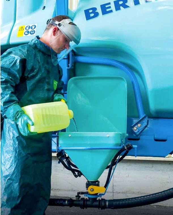 Rozwadniacz środków chemicznych opryskiwacza Berthoud Tracker