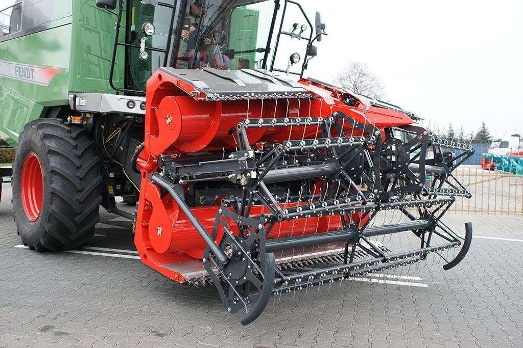 Capello Grain System złożone do pozycji transportowej
