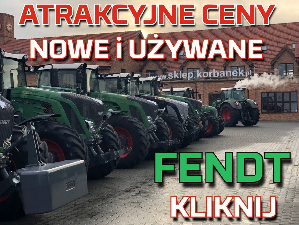 Atrakcyjne ceny nowych i używanych ciągników marki Fendt