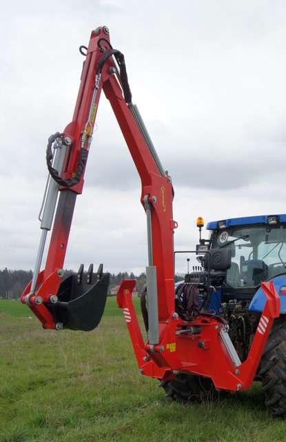 Koparka H-800T firmy Hydramet