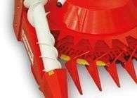 Przenośnik ślimakowy zapewnia pobieranie leżącej kukurydzy element przystawki Kemper serii 445 od firmy Korbanek