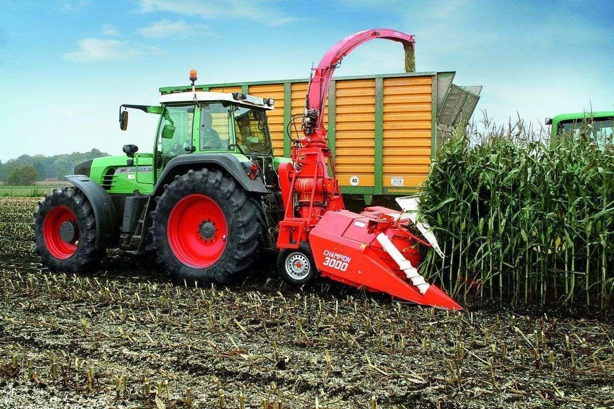 Niewiarygodnie Sieczkarani zawieszana do ciągnika rolniczego Kemper Chempion HB12