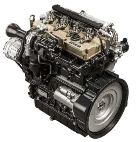 Nowoczesy wysokoprężny silnik KOHLER KDI 2504 stosowany w ładowarkach Kramer KT276