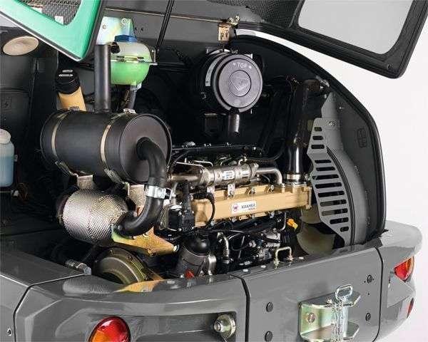$ late gwarancji na Wysokoprężny silnik Kohler KDI 2504 montowany w  ładowarce Kramer KL 10.5