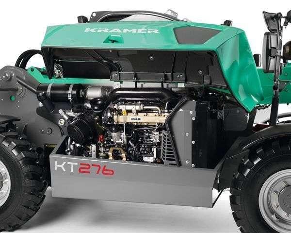 Nowy wysokoprężny silnik KOHLER KDI 2504 stosowany w ładowarkach Kramer KT276