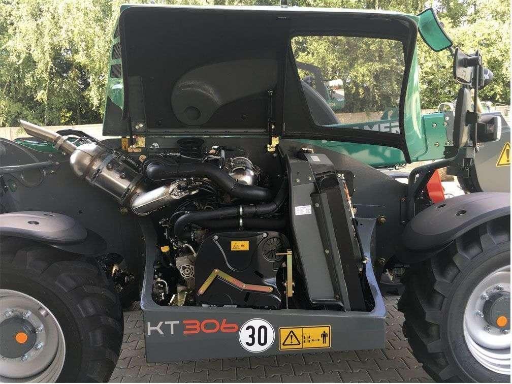 Sterowanie i hydraulika oraz silnik w ładowarce Kramer KT306 od www.korbanek.pl