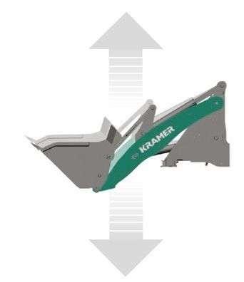 System amortyzacji wysięgnika zwiększający stabilność i komfort podróżowania w ładowarkach Kramer od www.korbanek.pl