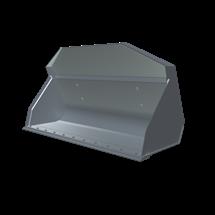 Łyżka standardowa kompatybilna z ładowarkami Kramer stosowana do przewozu towarów oraz rozładuku i załadunku