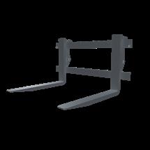 Paleciarka stosowana w ładowarka Kramer kompatybilna ze wszyskimi ładowarkami dzięki ramce narzędziowej