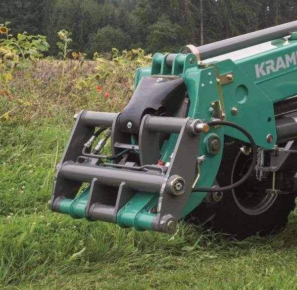 Ramka ładowarki Kramer kompatybilna z osprzętem różnych modeli oferowanych przez  www.korbanek.pl