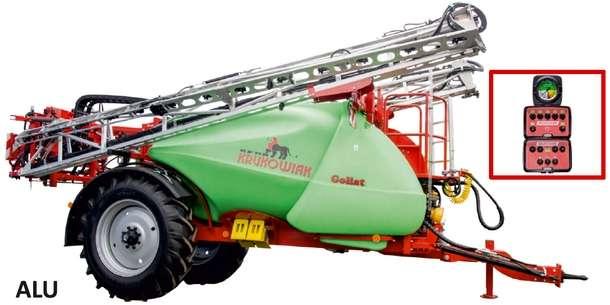 Opryskiwacz Goliat 4200 litrów z belką ALU