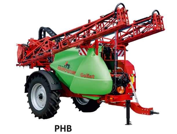 Opryskiwacz Goliat 4200 litrów z belką PHB
