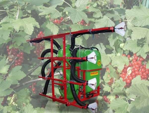 Opryskiwacz sadowniczy OCTOPUS z przystawką SAD/P