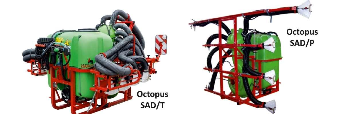 Opryskiwacze zawieszane sadownicze Krukowiak Octopus