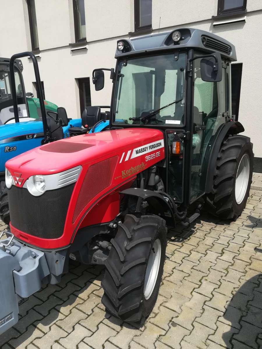 ciągniki sadownicze MF 3600 w firmie korbanek