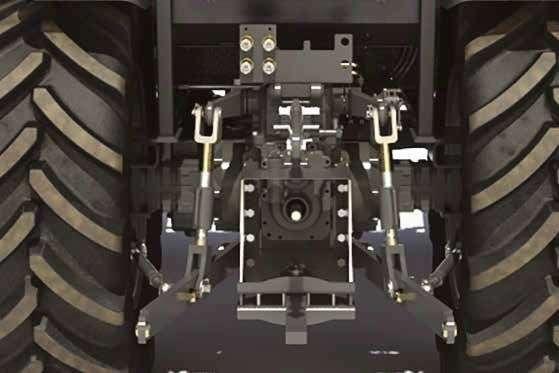 Tylny TUZ w ciągniku MF3600