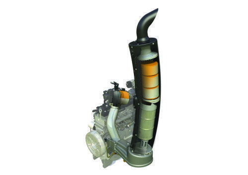 system redukujący emisję spalin SCR w ciągnikach Massey Ferguson 5600