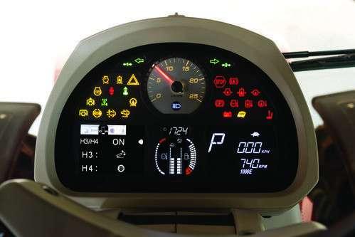Liczniki motogodzin w ciągniku Massey Ferguson 7700
