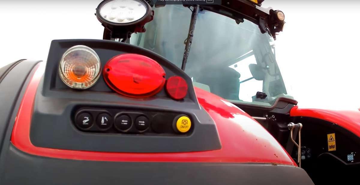 EHR i przyciski na błotniki w Massey Ferguson 8700