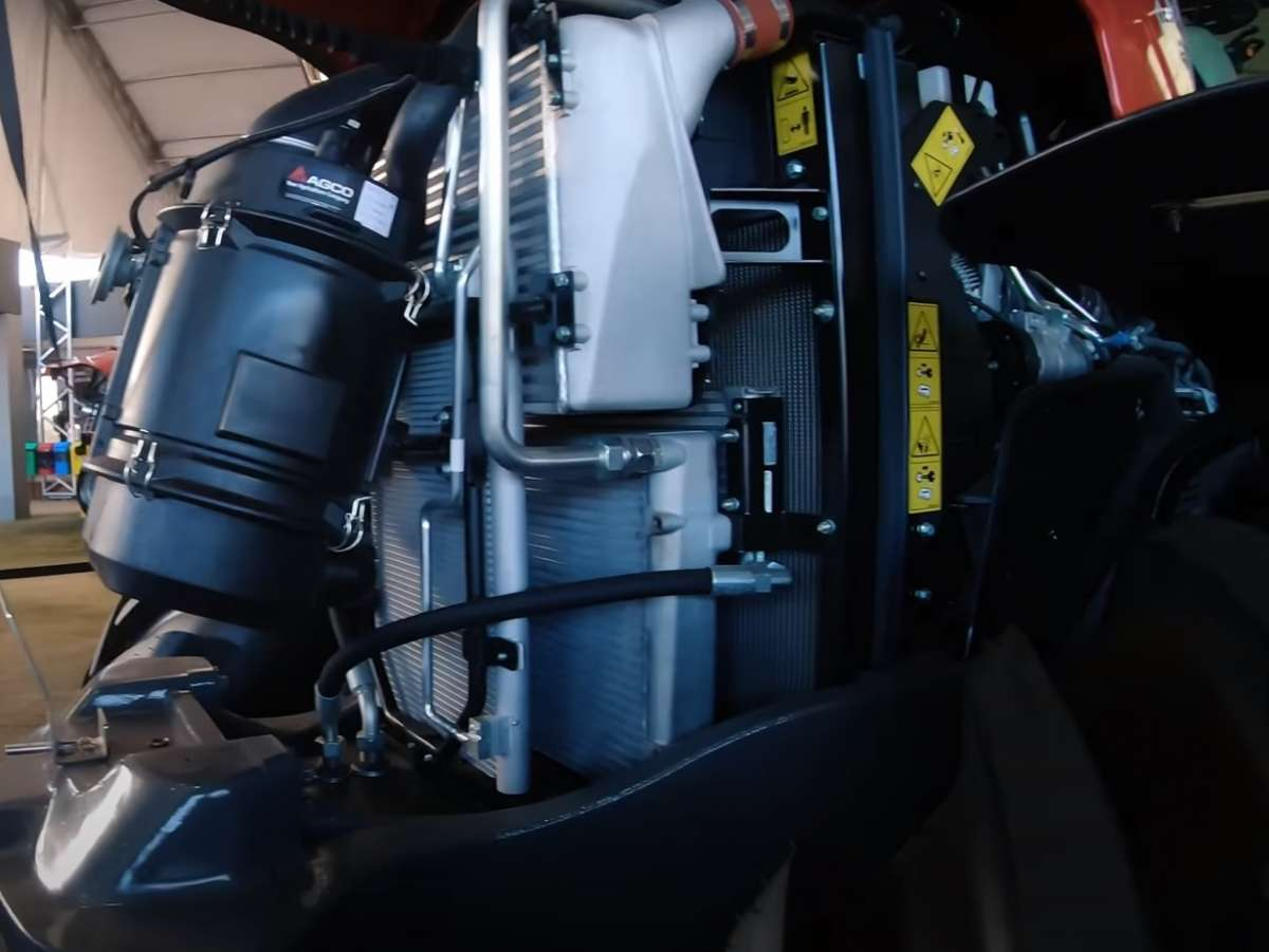 Silnik Agco Power od Massey Ferguson 8700