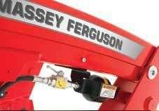 system amortyzacji MF ładowacza czołowego Massey Ferguson