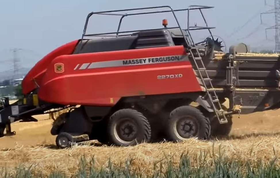 Massey Ferguson 2270XD podbieracz