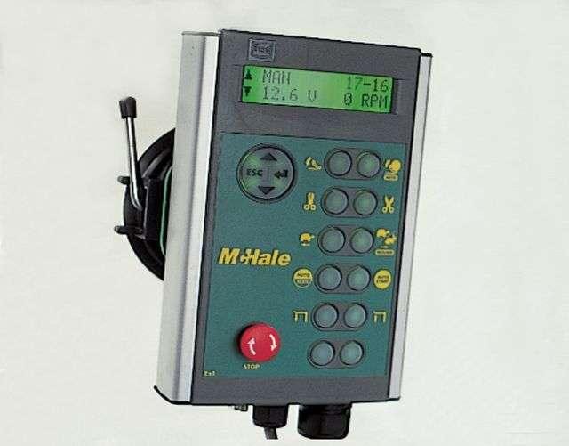 Elektroniczny terminal sterujący owijarka do bel mcHale 991BE