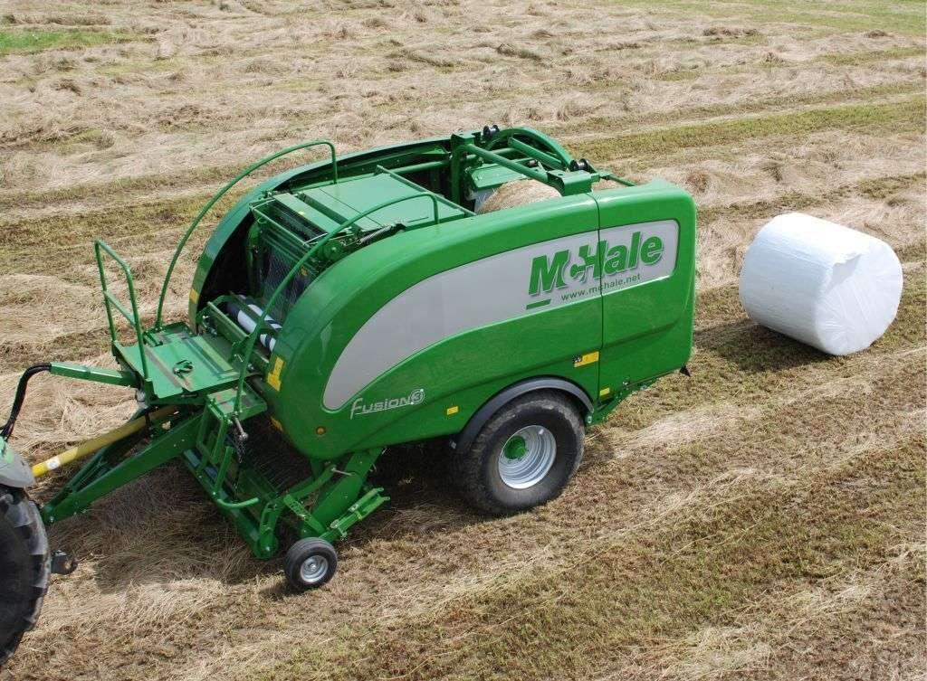 Prasoowijarka stałokomorowa McHale Fusion 3 owijanie balota