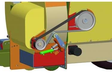 McHAle C460 napęd rotora