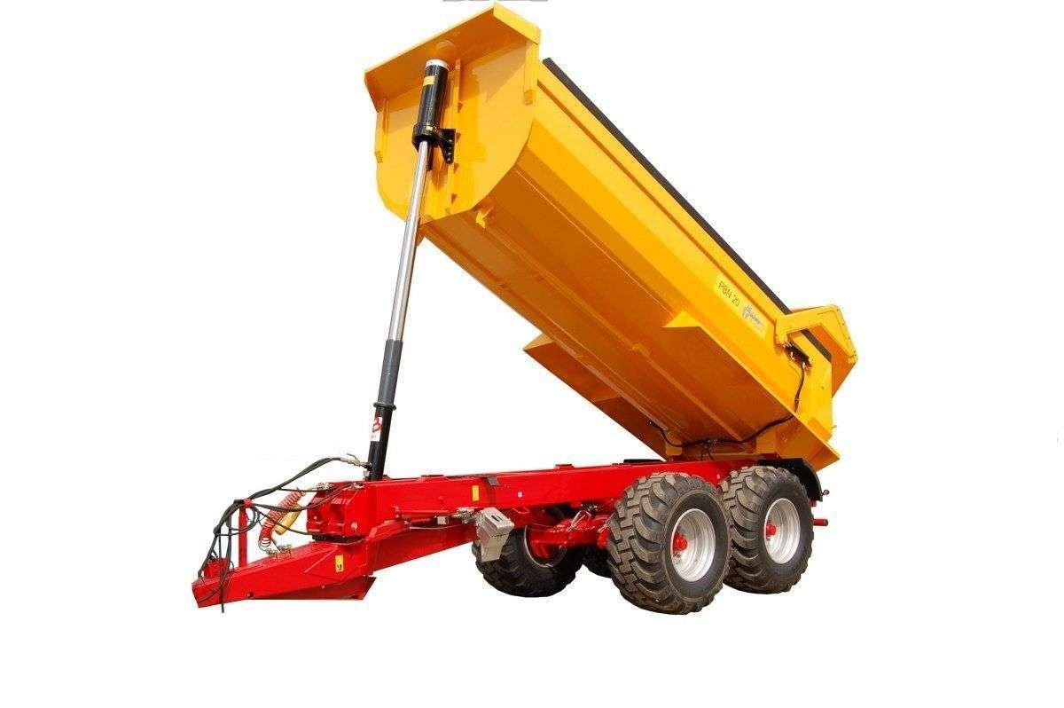 Przyczepa budowlana Metaltech PBN 20 R, 20 ton