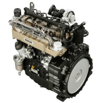 Silnik Koehler z normąemisji spalin Tier 4F, bez filtra DPF z zastsowaniem EGR i katalizatora DOC