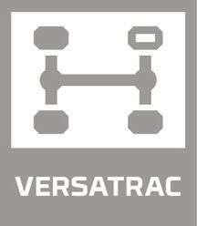 rozpięcie tylnej osi Versatrack