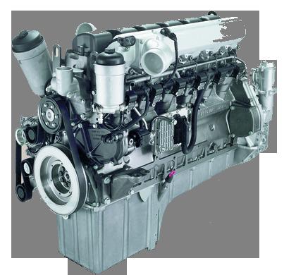 Silnik sieczkarni polowej Rostselmash RSM1403