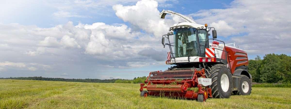 Sieczkarnia polowa Rostselmash RSM 1403 zbiór traw