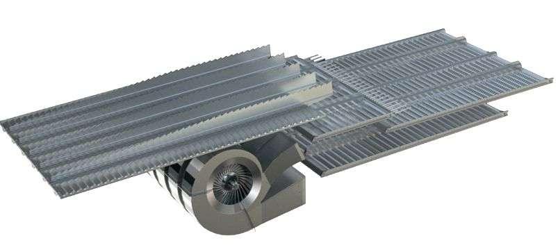 skuteczny system czyszczenia OPTI FLOW w kombajnie Rostselmash RSM 161