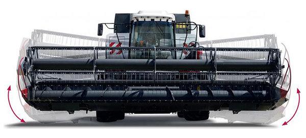 przyrząd żniwny Power Stream płynne doskonałe cięcie w kombajnie Rostselmash RSM 161 z firmy Korbanek