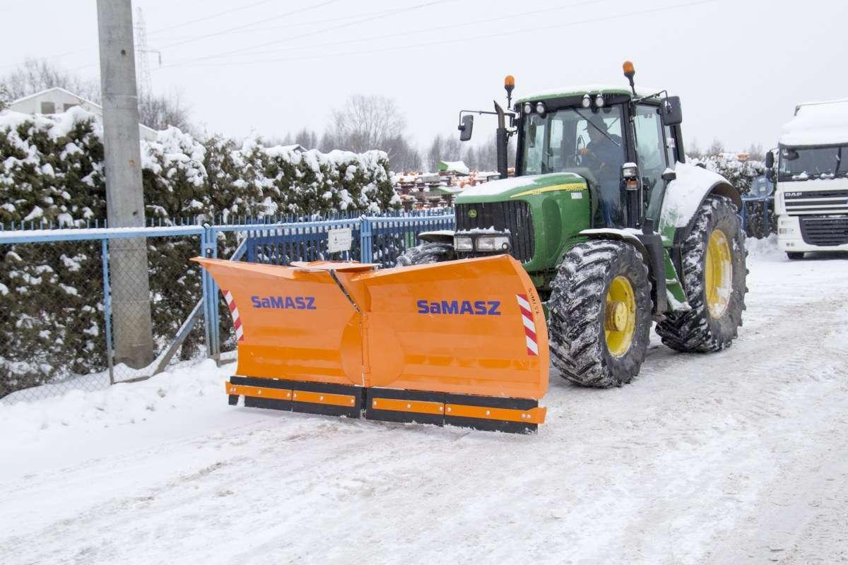 Pług do śniegu Samasz OLIMP