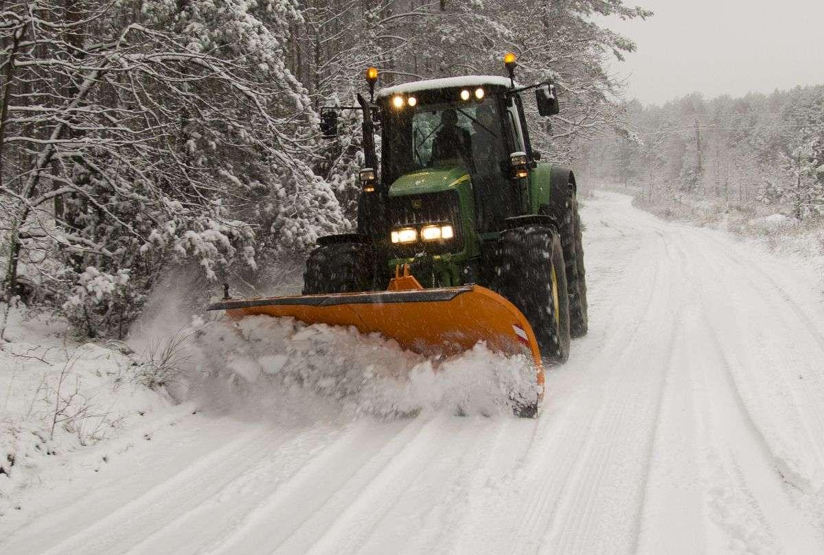 Pług Storm do śniegu firmy Samasz