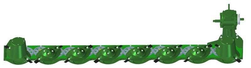 W zestawach kosiarek dyskowych GigaCUT firmy Samasz zastosowano nowoczesną listwę koszącą PrefectCUT
