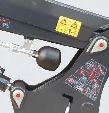 Ładowaczy STOLL Amortyzator drgań Comfort Drive