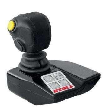 Elektroniczna dźwignia sterująca joystick Pro Control do sterowania ładowaczami STOLL Korbanek.pl