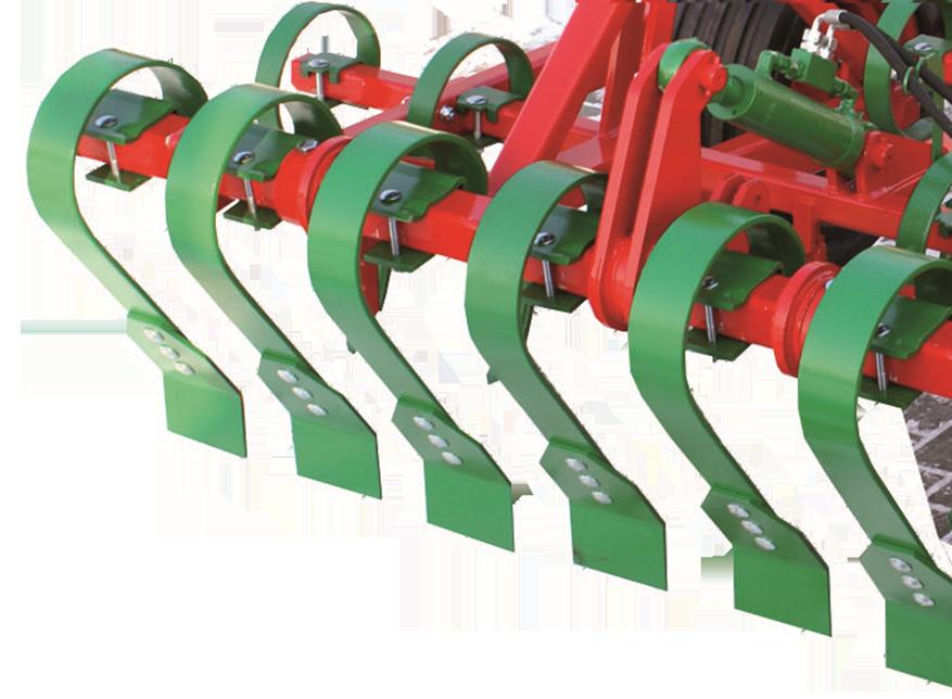 Zdjęcie przedstawiające hydrauliczna sprężynowa włókaprzednia, w agregacie Unia VIKING.